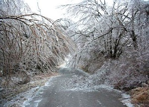 A scene from the 1998 Ice Storm.